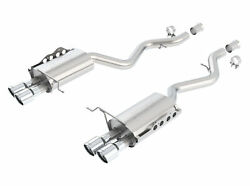 Borla 11764 08 13 Bmw M3 Coupe 4.0l V8 Rwd Exhaust Rear Section Only