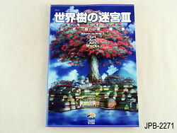 Etrian Odyssey Iii 3 Official Setting Collection Japanese Artbook Us Seller B