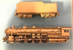 Nj Custom Ho Scale Brass Class A Northern Pacific 4-8-4 Locomotive And Tender