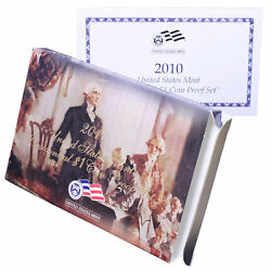 Empty Packaging Replacement Proof Presidential Dollar Set Box No Coins 2010