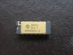 1x Cpu Ic Japan 1f3 T Hm4864-2 Vintage ``ceramic Cpu For Gold Scrap Recovery