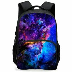 Backpack Teen CAIWEI Universe Space TrendyMax Galaxy Pattern Backpack Cute Sky $45.53