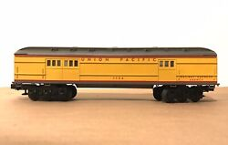 Lionel O Scale 6-25177 Union Pacific Baby Madison Trainsounds Baggage Car Nib