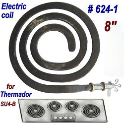 Vintage Thermador Su4-b Cook-top Range 8 Coil/surface Element Replacementworks
