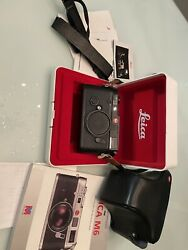 Leica M6 1990 In Box + Leica Leather Case