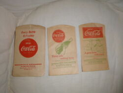 26 Coca Cola Items-mostly Paper-from 1924-1950s