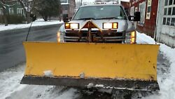 7'6 Fisher Minute Mount 2 Ii Snow Plow Dodge , Chevy , Ford, Gmc