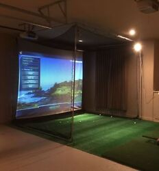 New Optishot 2 Golf Simulator System With New Benq Projector