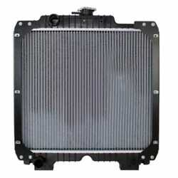 Radiator - Aluminum Core Compatible With Case Ih Jx90 Jx95 New Holland Td95d