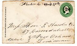 Keatchie LA Desoto 1844 open to new Orleans LA w Rooster Cancel