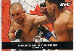 2013 Topps Ufc Bloodlines Georges St. Pierre 100 Canada Flag Parallel 113/188