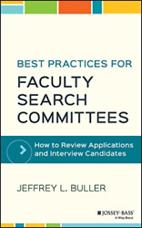 Buller-best Practices Faculty Search Committees Uk Import Bookh New