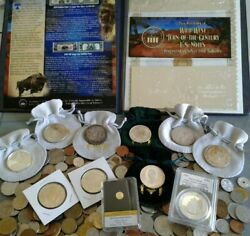 World/foreign Coins Crown Size Silver Coins And Gold Coin Collectibles