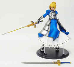 Real Arrange 003 Saber Fate / Stay Night 1/4 Pvc Painted Character Figure