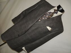 Vito Rufolo Made In Italy Menand039s Silk And Wool Menand039s Jacket Coat 50 R