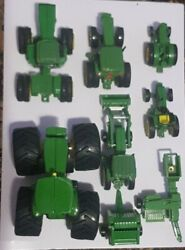 John Deere Vintage Toys Lot Of 8 Piece Only Today 49