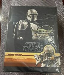 New Hot Toys Tms015 The Mandalorian And The Child 1/6 Deluxe Version