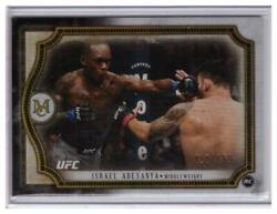 2018 Topps Ufc Museum Collection Israel Adesanya Rookie /159 Copper Parallel Rc