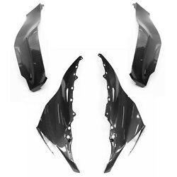 For Kawasaki Ninja Zx-10r 2011-2015 Front Side Tank Cover Nose Headlight Fairing