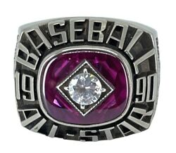 1990 Mlb⭐️all-star⭐️game Ring Wrigley Field, Chicago Championship Ring ⚾️cubs