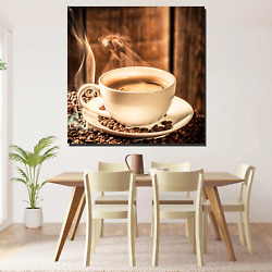 Fragrance Of Coffee Cafe And Coffee Canvas Art Print For Wall Decor