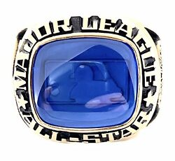 1987 Mlb ⭐️all-star⭐️game Ring Oakland ⚾️ Auth. Championship / Champions Ring