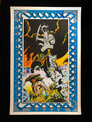 Rare 1978 Aardvark Berserk 1st Cerebus Poster Limited - Mail In From Cerebus 3