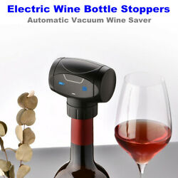 Electric Wine Stoppers Automatic Vacuum Wine Saver Bottle Sealer 48.5mm Diameter