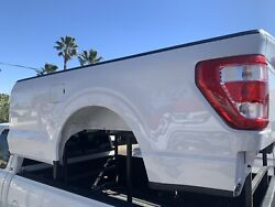 2021 Ford F150 Pickup Box Truck Bed 8andrsquo White