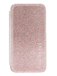 Ted Baker Ellea Mirror Case For Iphone Xr- Rose Gold Nude - Glitter