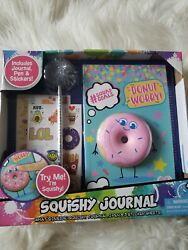 5andtimes My Squishy Journal Donut Worry Journal Pen And 3 Sticker Sheets By Tara Toys