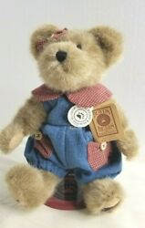 Boyds Bears Maggie D Berriweather 10 Tall Standing With Boyd Stand Am