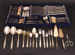 Unique Silver-plated Cutlery Set, 93 Items, Made In Germany, Gifts For Kitchen