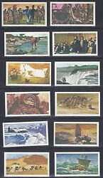 Uk Gb 1930's Collection Of 18 Brooke Bond Tea Cards