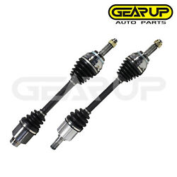 Pair Cv Axle Joint Assembly Front For Hyundai Tiburon Auto Trans 5 Speed 2.7l V6