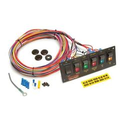 Painless Wiring 50406 6-switch Lighted Panel, Non-fused With Wiring
