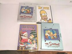 The Simpson's Dvd Seasons 1 And 2 , Simpsons Christmas, And Simpsons Movie