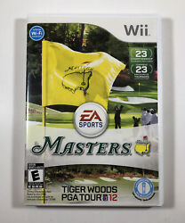 Tiger Woods Pga Tour 12 The Masters Nintendo Wii With Manual - Ships Boxed