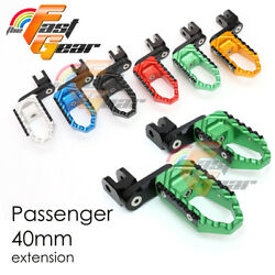 Cnc 40mm Passenger Trc Foot Pegs For Ducati Monster S2r 800 03-07 05