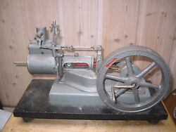 Vintage Antique Toy Large And Heavy Model Of A Steam Engine Motor
