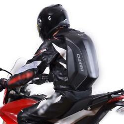 Motorcycle Backpack Hard Shell Air Flow Track Riding Stealth No Drag Back Pack $91.99