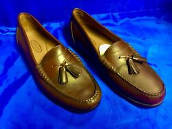 Bass Weejuns Mens Brown Tassel Loafers Shoes New No Box 11.5 Medium