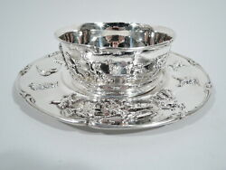 Gorham Bowl Plate - A4479 A4480 - Antique Baby Gift - American Sterling Silver