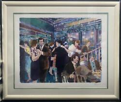 Aldo Luongo Glass Palace Signed And Numbered Serigraph Framed