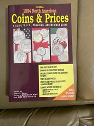 1994 North American Coins And Prices 3rd Edition U.s. Canadian And Mexican Coins
