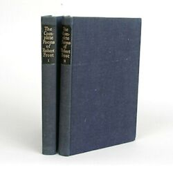 The Complete Poems Of Robert Frost - The Limitied Edition Club 1950