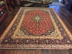 S.antique Genuine Hand Knotted Vintage Classic Area Rug Traditional 8x12150