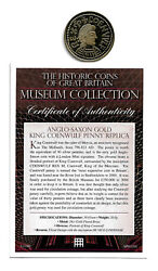 Great Britain Coenwulf Gold Penny - Museum Collection - Gold Plated