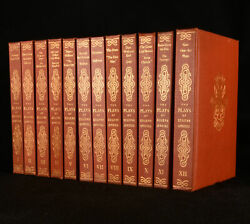 1934-5 12vol The Plays Of Eugene Oand039neill Limited Edition Signed