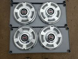 1967 Chevy Chevelle Ss Wheel Covers Set Of Four 14andrdquo Nos